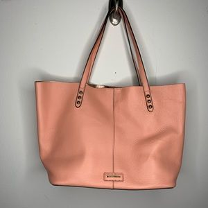 NWT Rebecca Minkoff Pink Blythe Leather Tote Bag